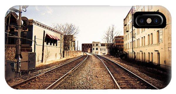 Walkers Point Railway IPhone Case