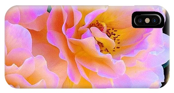 Nature iPhone Case - Walking Along The Street In Downtown by Blenda Studio