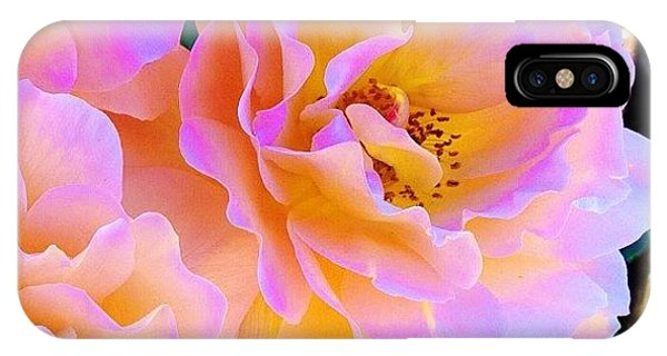 Florals iPhone Case - Walking Along The Street In Downtown by Blenda Studio