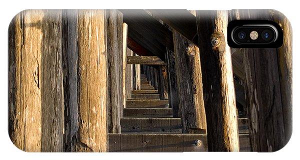 Trestle iPhone Case - Walking Bridge II by Bill Gallagher