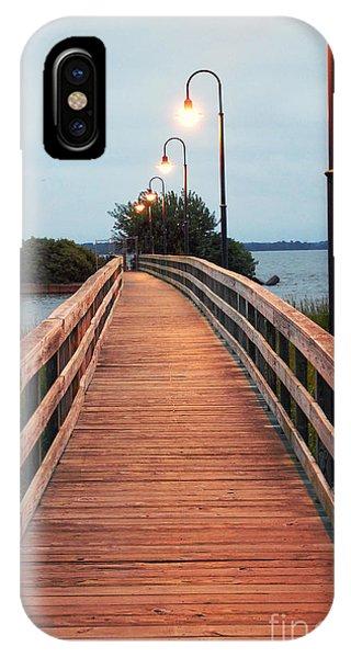 Walking Bridge IPhone Case