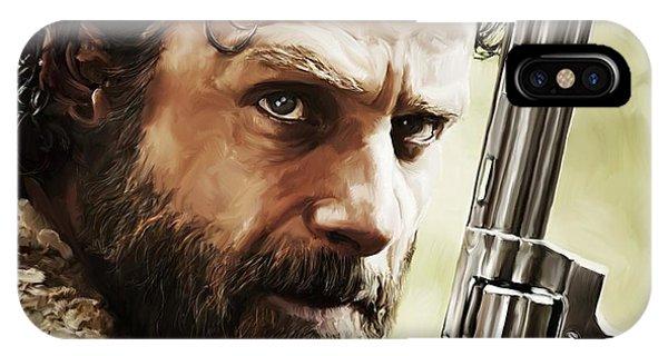 Walking Dead - Rick IPhone Case