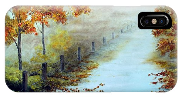 Walking In The Mist IPhone Case
