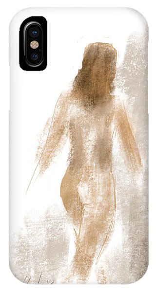 Walking Nude IPhone Case