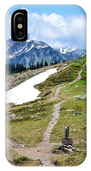 Walking On The High Divide IPhone Case