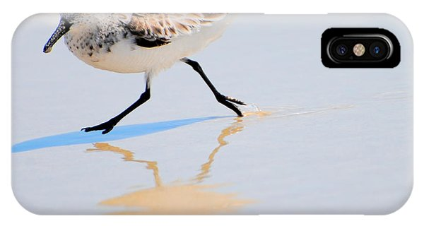 Walking Shorebird  IPhone Case