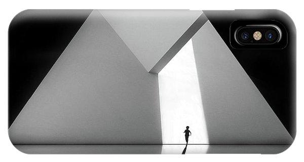 Figures iPhone Case - Walking The Diamond # 03 by Huib Limberg