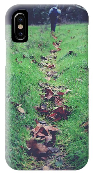 Walking The Path Less Traveled IPhone Case