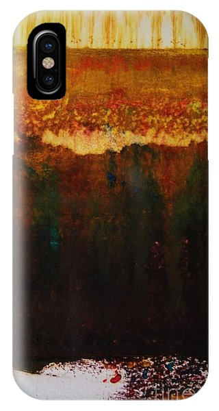 Walking Through The Fields Of Gold IPhone Case