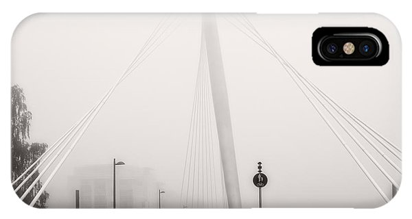 Walking Through The Mist IPhone Case