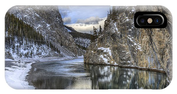 Banff iPhone Case - Walking Through Wonderland by Evelina Kremsdorf