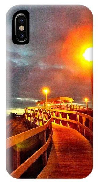 Walkway To Atlantic IPhone Case