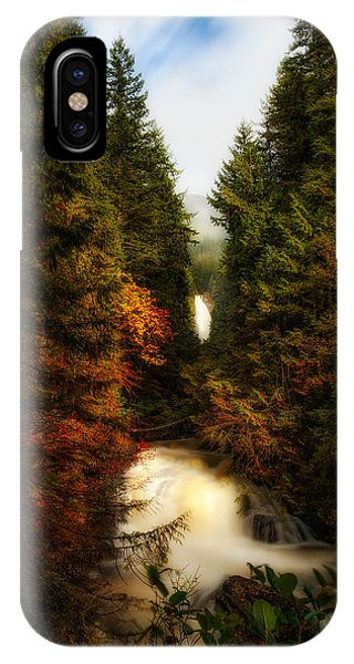 Wallace Fall North Fork IPhone Case