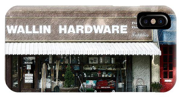 Wallin Hardware IPhone Case
