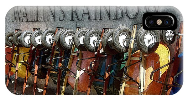 Wallin's Rainbow IPhone Case