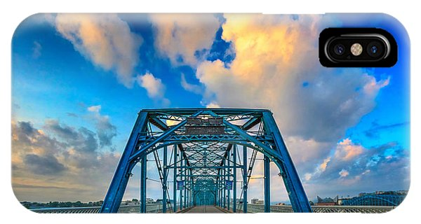 Walnut Street Walking Bridge IPhone Case