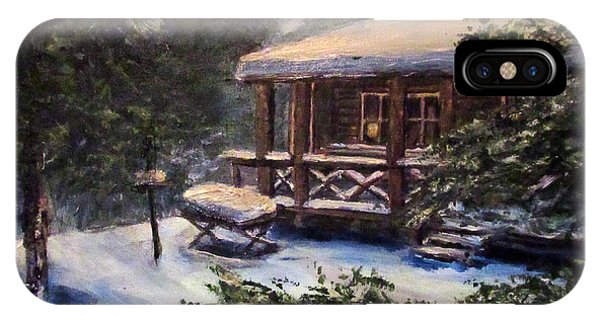 Walsh Cabin On Cranberry Lake IPhone Case