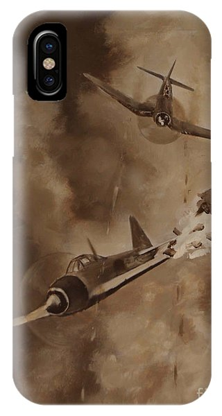 Walsh Scores Another - Grisaille IPhone Case
