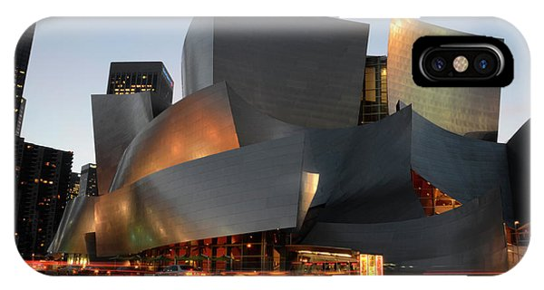 Gehry iPhone Case - Walt Disney Concert Hall 21 by Bob Christopher