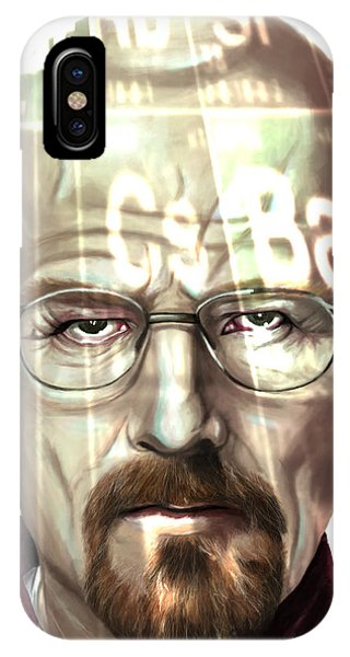 Walter White 2 Phone Case by Jamie Bishop