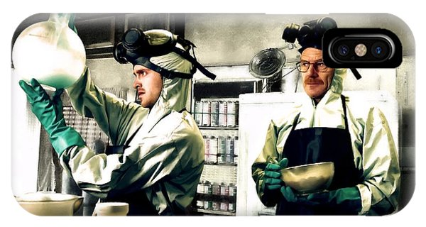 Walter White And Jesse Pinkman IPhone Case