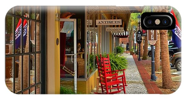 Walterboro Sc Sidewalk IPhone Case