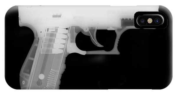 Calico M100 iPhone Case - Walther P22 Reverse by Ray Gunz