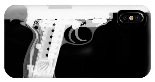 Calico M100 iPhone Case - Walther P38 Reverse by Ray Gunz