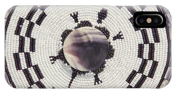 IPhone Case featuring the digital art Wampum I by Douglas K Limon