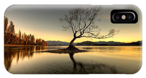 Wanaka - That Tree 1 IPhone Case