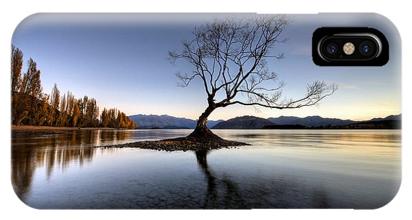 Wanaka - That Tree 2 IPhone Case