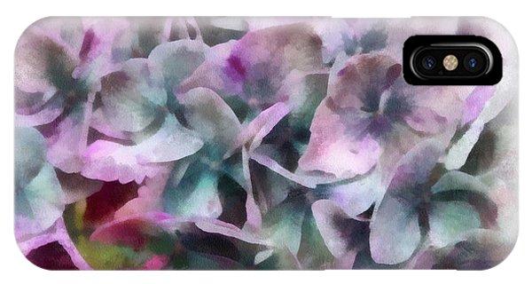 Waning Hydrangea IPhone Case