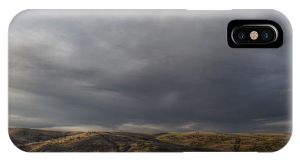Waning Light On The Hills Of South Dakota IPhone Case