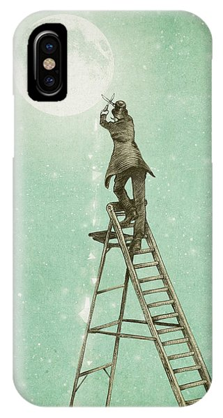 Waning Moon IPhone Case