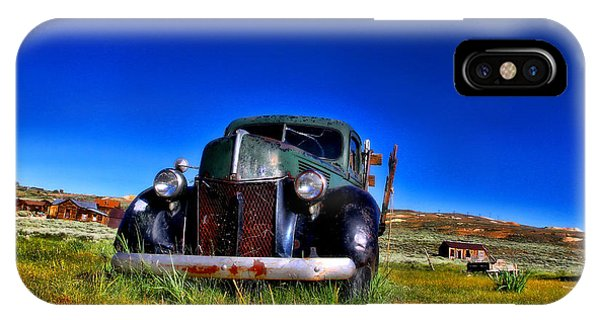 Wanna Ride - Bodie Ghost Town By Diana Sainz IPhone Case