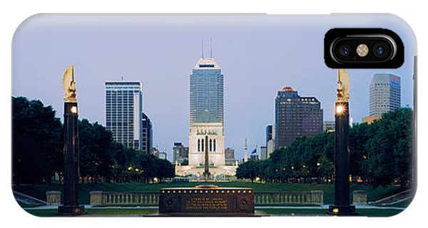 War Memorial In A City, Cenotaph IPhone Case