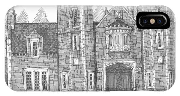 Ward Manor Bard College IPhone Case
