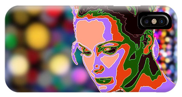 Warhol Style Portrait IPhone Case