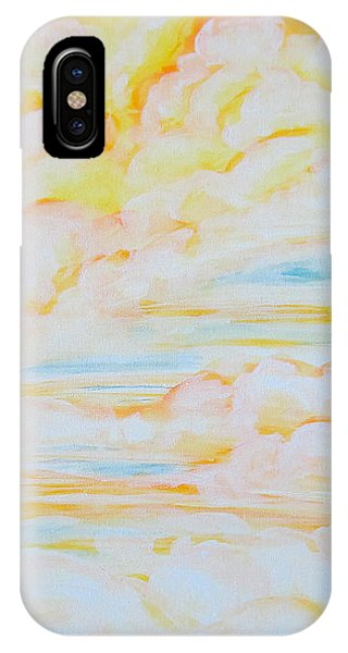 Warm Clouds IPhone Case