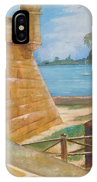 Warm Days In St. Augustine IPhone Case