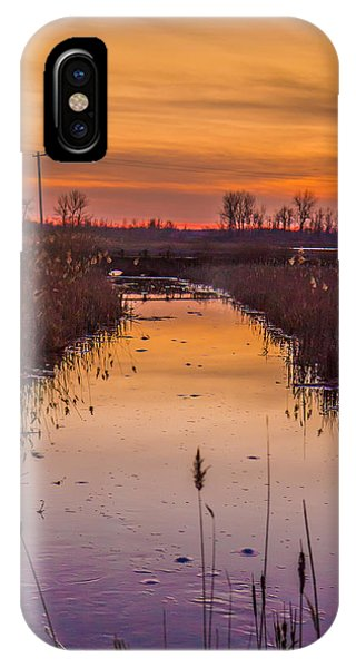 Warm Reflection Phone Case by Bruno Santos