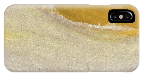 Abstract Landscape iPhone Case - Warm Sun by Linda Woods
