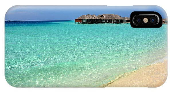 Warm Welcoming. Maldives IPhone Case