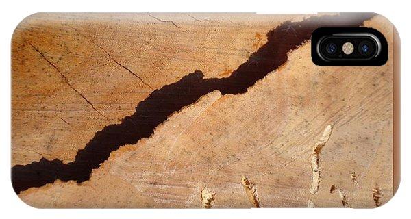 Warm Willow Wood-iii IPhone Case