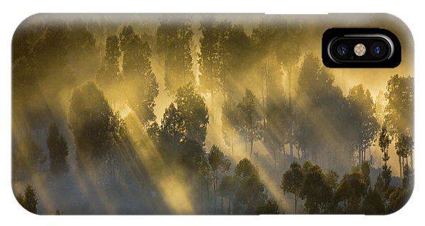Mist iPhone Case - Warmth In The Cold by Prianto Puji Anggriawan