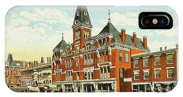 Warner House - Chillicothe Ohio IPhone Case