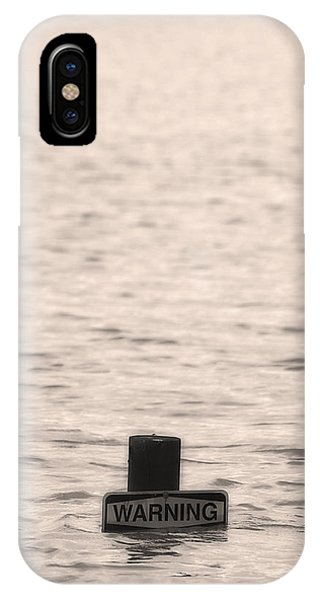 Warning Midwest Floods IPhone Case