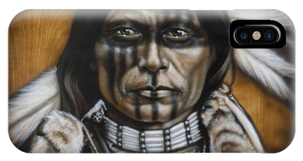 Airbrush iPhone Case - Warpaint by Timothy Scoggins