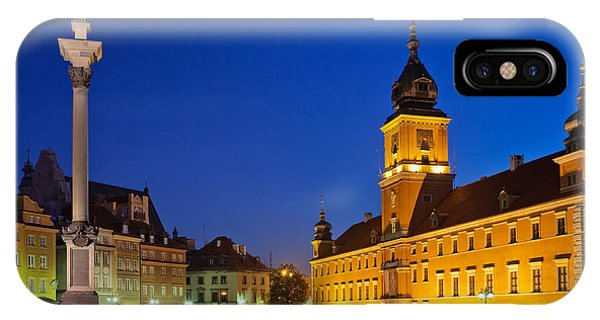 Warsaw By Night IPhone Case