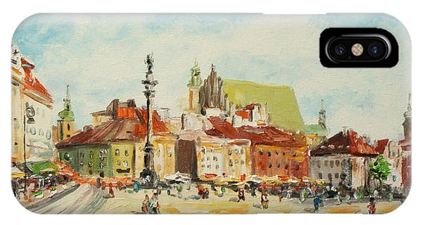 Warsaw- Castle Square IPhone Case